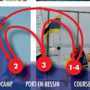 Semaine de voile en Calvados - Coupe de Normandie 2016